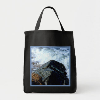 Sea Washed II Personalized Tote Bag