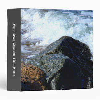 Sea Washed II Spine Title 3 Ring Binder