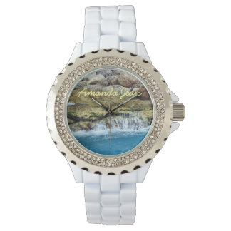 Sea Washed Rocks Personalized Watch