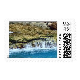Sea Washed Rocks Postage
