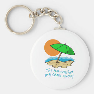 SEA WASHES CARES KEYCHAINS
