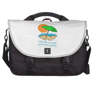 SEA WASHES CARES COMMUTER BAG