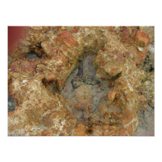 Sea Water and Rock Formation Posters