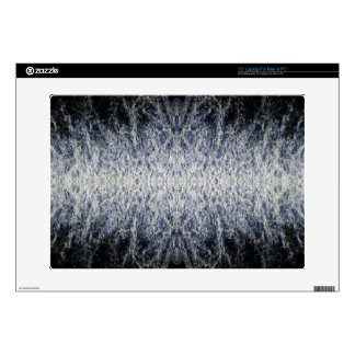 "Sea water pattern decals for 15"" laptops"