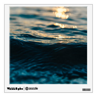 Sea wave wall sticker
