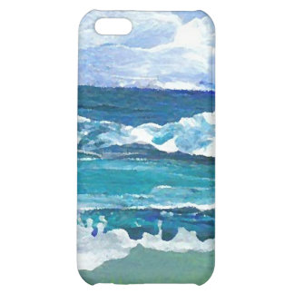 Sea Waves at Play - CricketDiane Ocean Art Case For iPhone 5C