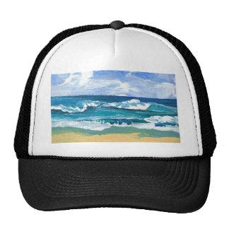 Sea Waves at Play - CricketDiane Ocean Art Trucker Hat