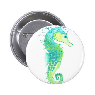 Sea Weed Pinback Button