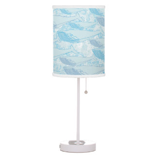 Sea & Whales Desk Lamp