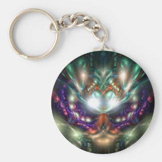 Sea Witch Basic Round Button Keychain