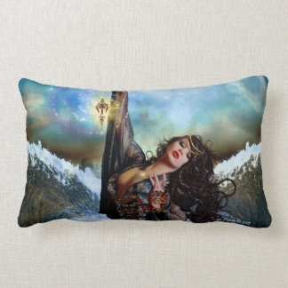 Sea Witch Magical Art Decorative Throw Pillow