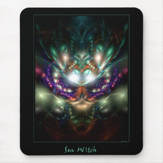 Sea Witch Mouse Pad