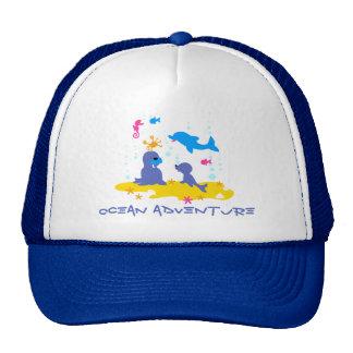 Sea world - ocean adventure trucker hat