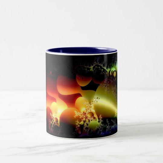 Sea World Two-Tone Coffee Mug