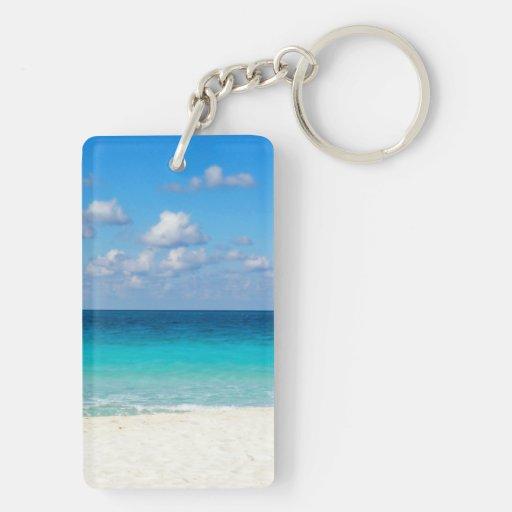 seaaa rectangle acrylic keychains