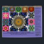 """SeaAngeL12 - 2019 Calendar<br><div class=""""desc"""">The SeaAngeL12 - 2019 Calendar mandalas are made from crystals and flowers.</div>"""