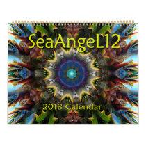 SeaAngeL12 - Mandala Calendar 2018