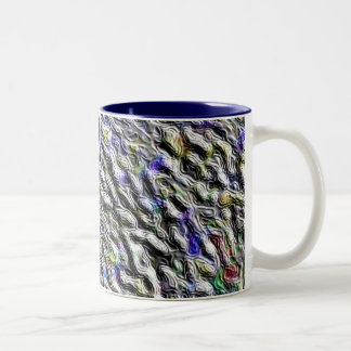 Seabed Two-Tone Coffee Mug
