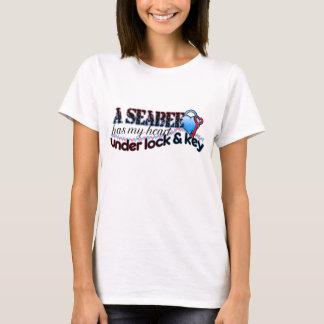 Seabee has my heart under lock & key T-Shirt