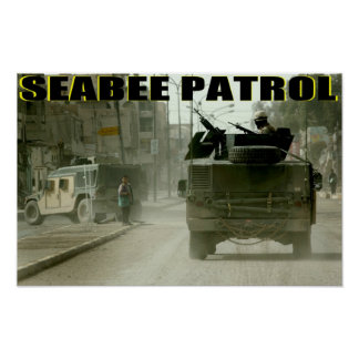 Seabees Can Do Poster