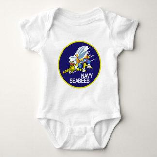 Seabees NAVY Baby Bodysuit