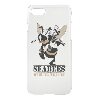 Seabees We build We Fight iPhone Case