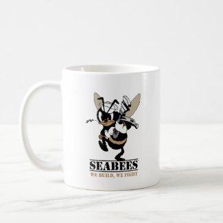 Seabees We build We Fight Mug
