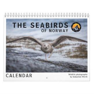 Seabirds 2022 calendar