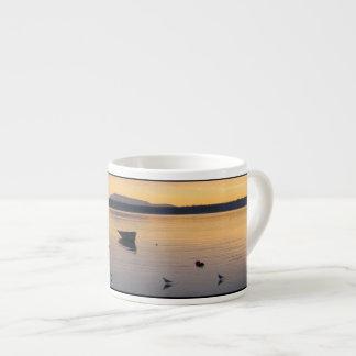 Seabirds and Boat Espresso Cup