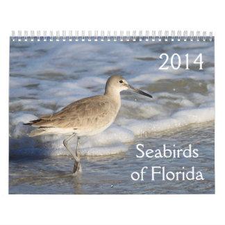 Seabirds of Florida 2014 Calendar