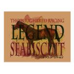 Seabiscuit - leyenda que compite con excelente postales