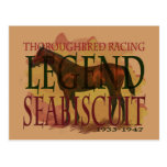 Seabiscuit - Thoroughbred Racing Legend Post Cards