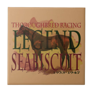 Seabiscuit - Thoroughbred Racing Legend Tiles