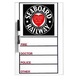 Seaboard Air Line Railway Company Tableros Blancos