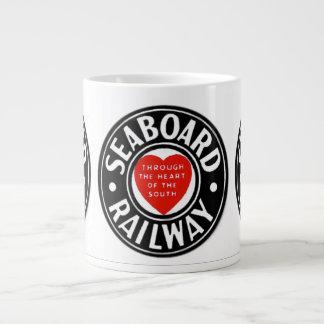 Seaboard Air Line Railway Heart Logo Jumbo Mug