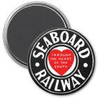 Seaboard Air Line Railway Heart Logo Magnet