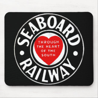 Seaboard Air Line Railway Heart Logo Mouse Pad