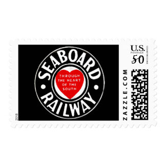 Seaboard Air Line Railway Heart Logo Postage