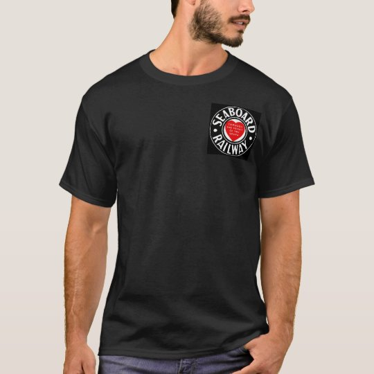 Seaboard Air Line Railway Heart Logo T-Shirt