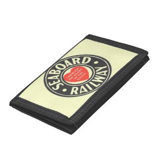 Seaboard Air Line Railway Heart Logo Trifold Wallets