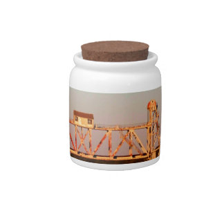 SEABOARD AIRLINE RR BRIDGE - CHATTAHOOCHEE RIVER CANDY JARS