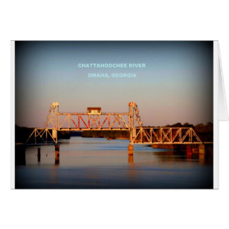 SEABOARD AIRLINE RR BRIDGE - CHATTAHOOCHEE RIVER CARDS