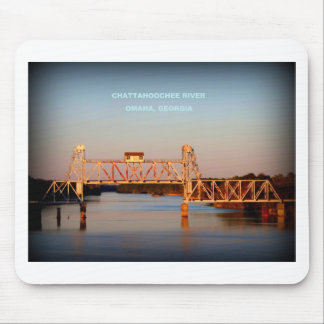 SEABOARD AIRLINE RR BRIDGE - CHATTAHOOCHEE RIVER MOUSE PAD