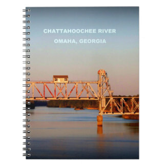 SEABOARD AIRLINE RR BRIDGE - CHATTAHOOCHEE RIVER NOTEBOOK