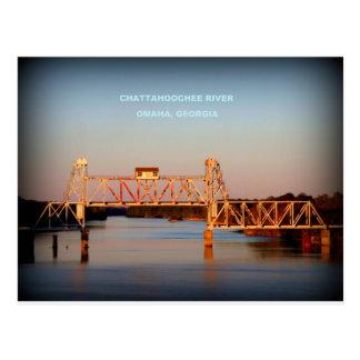 SEABOARD AIRLINE RR BRIDGE - CHATTAHOOCHEE RIVER POST CARDS