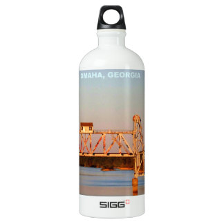 SEABOARD AIRLINE RR BRIDGE - CHATTAHOOCHEE RIVER WATER BOTTLE
