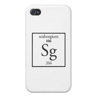 Seaborgium iPhone 4/4S Carcasas