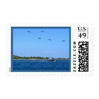 Seabound Postage Stamp