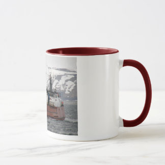 Seabrooke, Crab Boat in Dutch Harbor, Alaska Mug