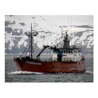 Seabrooke, Crab Boat in Dutch Harbor, Alaska Postcard